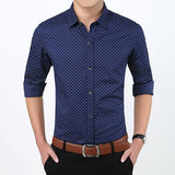Polka Dot Dress Shirt