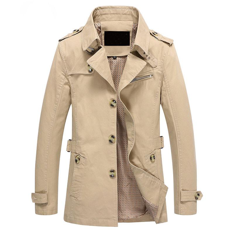 Businessman Trench Coat - khaki / XXS - HIS.BOUTIQUE