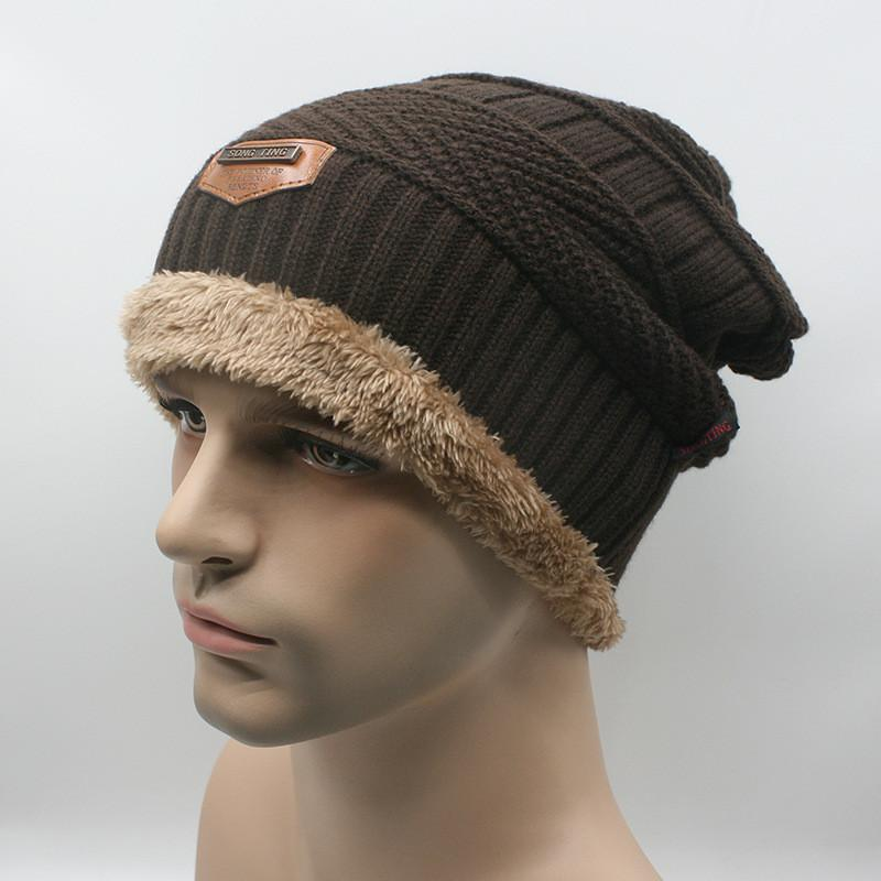 Sports Beanie Brown