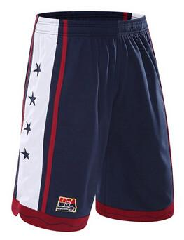 USA Men's Basketball Shorts Blue