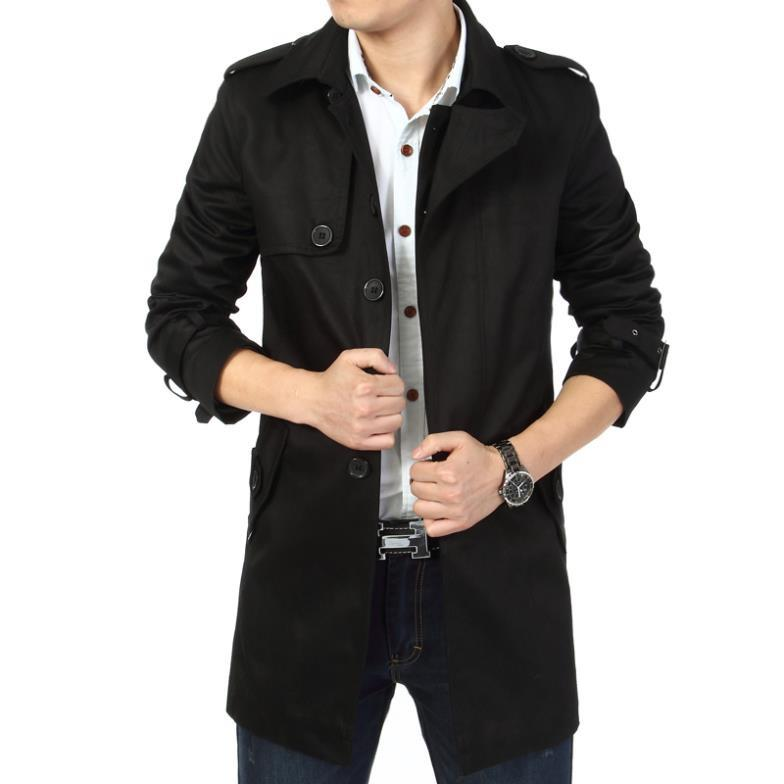 THE SANDRINGHAM - Long Coat - Black / XS - HIS.BOUTIQUE