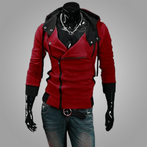 Assassins Creed Hoodie - Wine red / XS - HIS.BOUTIQUE