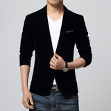 Velvet Blazer - Black / XS- Blazer -HIS.BOUTIQUE