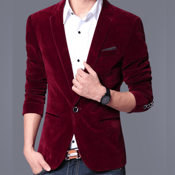 Velvet Blazer - - Blazer -HIS.BOUTIQUE