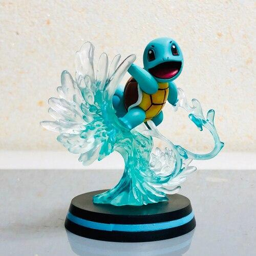 FIGURINE POKEMON CARAPUCE ATTAQUE SURF