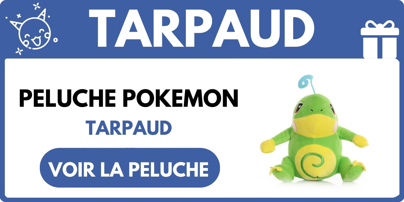 PELUCHE TARPAUD POKEMON