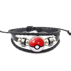 Bracelet Pokemon Pokeball