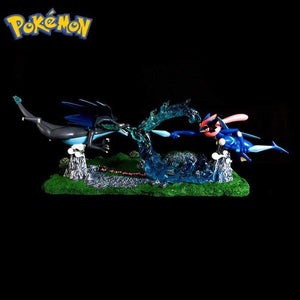 Figurine Collector Pokémon Méga Dracaufeu Vs Amphinobi