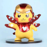 Figurine Pokémon Pikachu Cosplay Iron Man