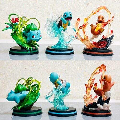 Figurine Pokemon Salamèche Attaque Coup de Queue Pack