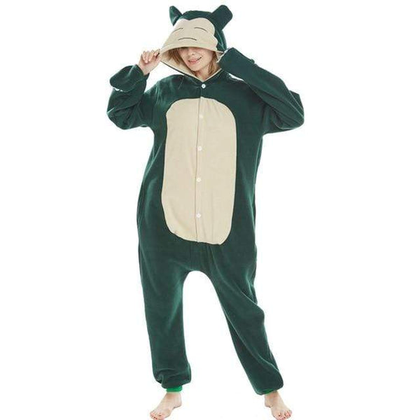 Pokemon Boutique Pyjama XL Kigurumi Pokemon Ronflex