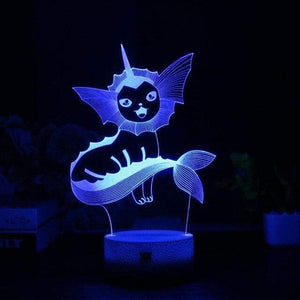 Lampe Aquali Pokemon