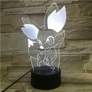 Lampe Led Pokemon Feunnec