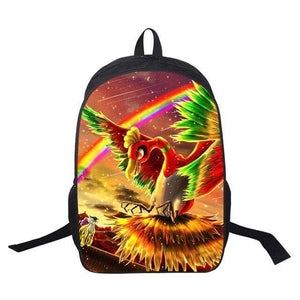 Pokemon Boutique Sac à Dos Sac A Dos Pokémon Ho-Oh