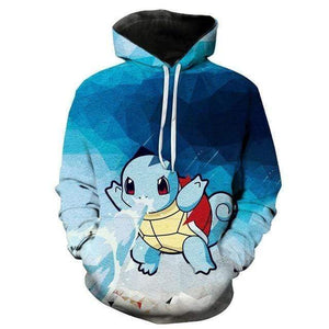 Pokemon Boutique Sweat M Sweat Pokémon Carapuce Pistolet a Eau