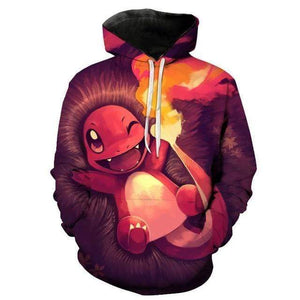 Sweat Pokémon Kawaii Salamèche XXL