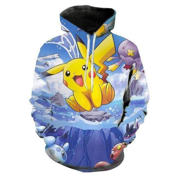 Pokemon Boutique Sweat 3XL Sweat Pokémon la Joie de Pikachu