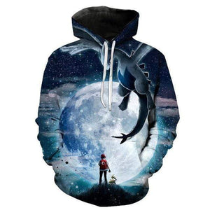 Pokemon Boutique Sweat 3XL Sweat Pokémon Le Légendaire Lugia