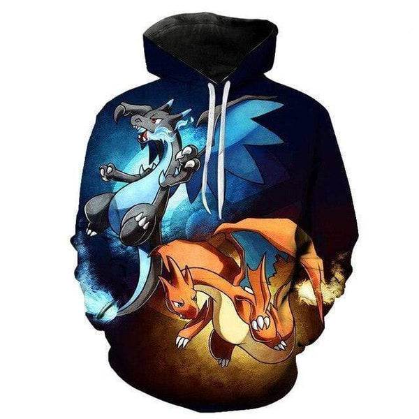 Pokemon Boutique Sweat M Sweat Pokémon Méga Dracaufeu X et Y