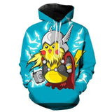Sweat Pokémon Pika-Thor XS