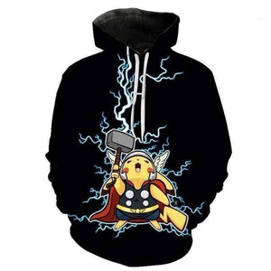 Sweat Pokémon Pikachu Cosplay Thor 3XL
