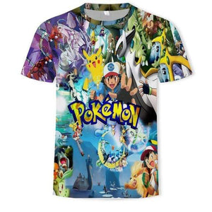 Pokemon Boutique T-Shirt 6XL T-Shirt le Monde des Pokémon