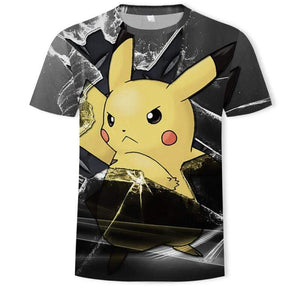 T-Shirt Pokémon Dark Pikachu