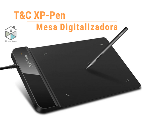 T&C XP-Pen Mesa Digitalizadora