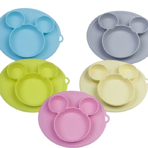 Kids Bowl Silicone Plates