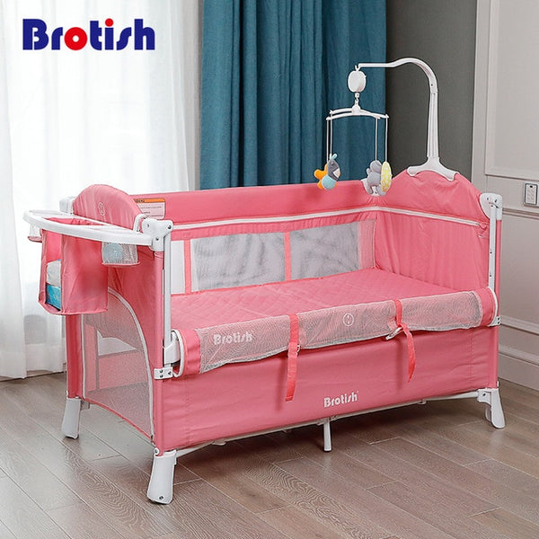 PREMIUM SGS certified Paint-free Multifunctional Play Bed, Crib