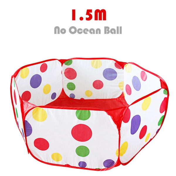 Ocean Ball Pit Baby Playpen Children Toy Tent Ball Pool with Basket Outdoor Toys for Children Ballenbak