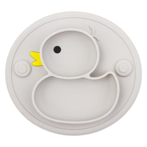 Duck-shaped Baby Plate