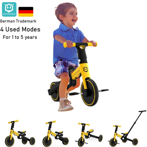 Uonibaby 4 into 1 Baby Stroller Pedal Tricycle