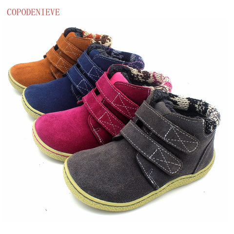 winter  shoes girl casual shoes natural leather casual shoes boots shoes breathable boy