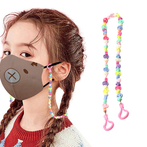 Multifunction Mask Retainer Necklace for Children