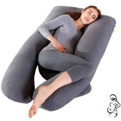 Expecting Mamas Cosmic Gray Expecting Mama Full Body Pregnancy Pillow