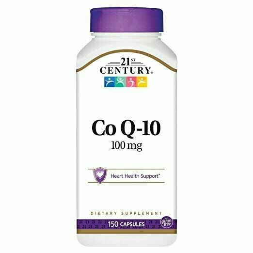 21st Century Co Q10 100 mg Capsules, 150 Count - usaotc.com