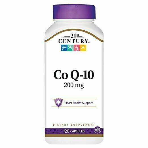 21st Century Co Q10 200 mg Capsules, 120 Count - usaotc.com