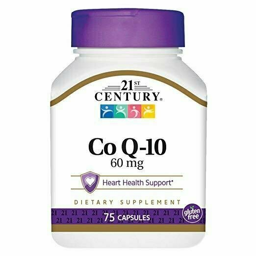 21st Century Co Q10 60 mg Capsules, 75 Count - usaotc.com