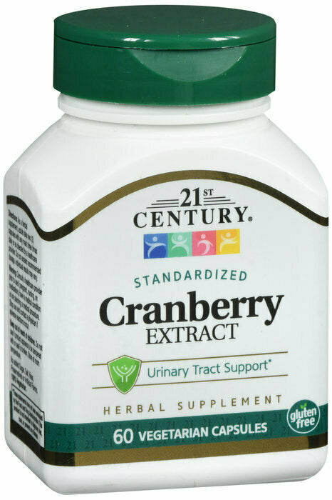 21ST CENTURY CRANBERRY EXTRACT VEGETARIAN CAPSULE 60 CT - usaotc.com