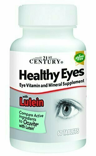21st Century Healthy Eyes with Lutein Tablets, 60 Count - usaotc.com
