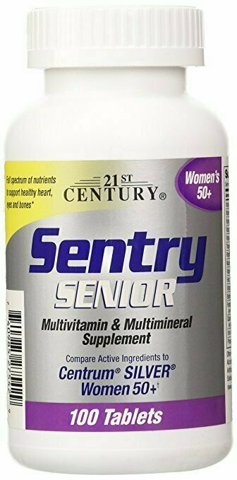 21st Century Sentry Senior Women 50 Plus Tablets, 100 Count - usaotc.com