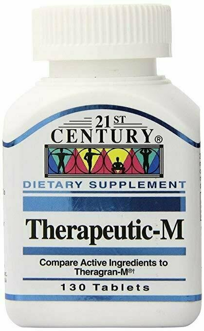 21st Century Therapeutic-M Tablets, 130 tablets - usaotc.com