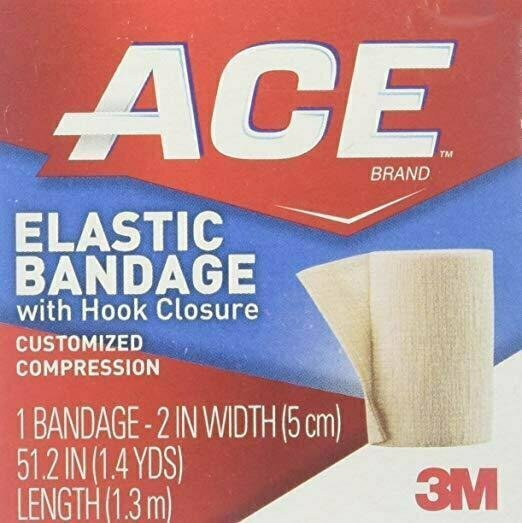 ACE Elastic Bandage with Hook Closure, 3 Inches Width - usaotc.com