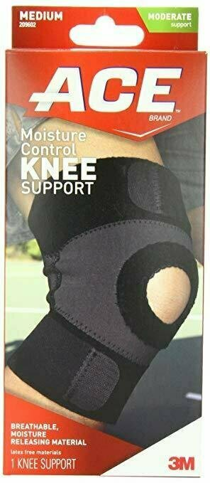 ACE Moisture Control Knee Support, Medium - usaotc.com