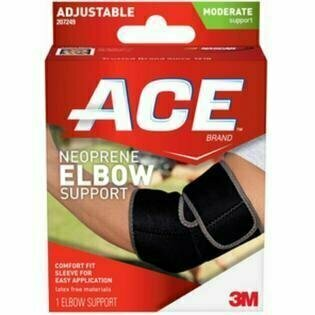 Ace Neoprene Elbow Support, Moderate Support - One Size Fits All - usaotc.com