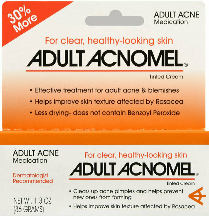ACNOMEL ADULT ACNE MEDICATION CREAM 1 OZ - usaotc.com