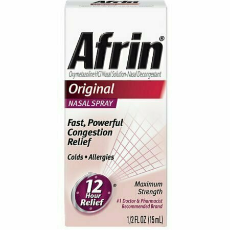 Afrin Nasal Spray, Original 15 mL - usaotc.com