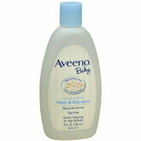 AVEENO Baby Wash and Shampoo 8 oz - usaotc.com