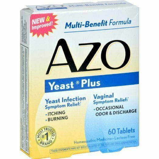 AZO YEAST TABLET 60 CT - usaotc.com